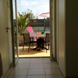Terrasse orientée sud - Location de vacances - Landunvez