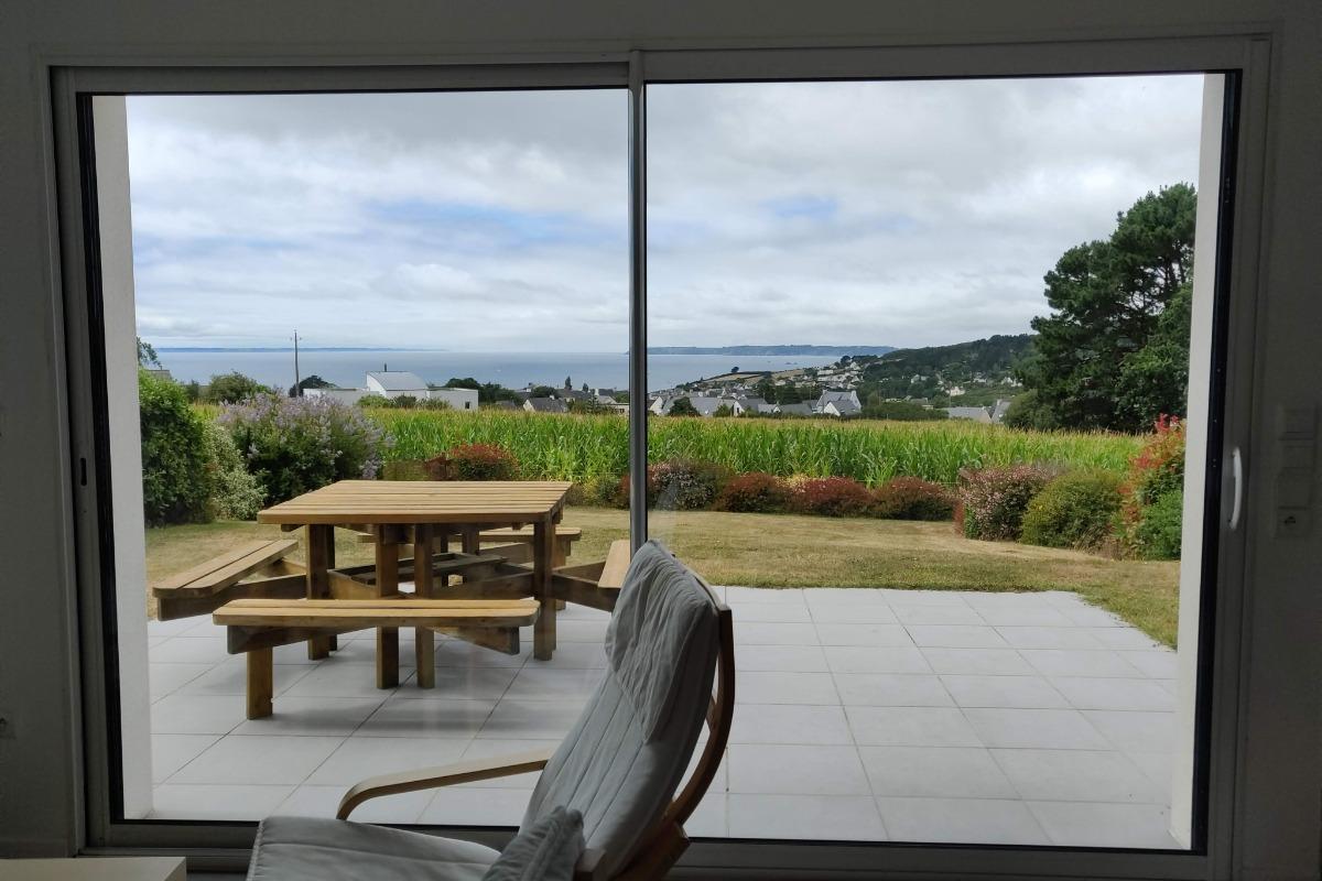 Gîte Kerannie exposé pleine vue mer  - Location de vacances - Telgruc-sur-Mer