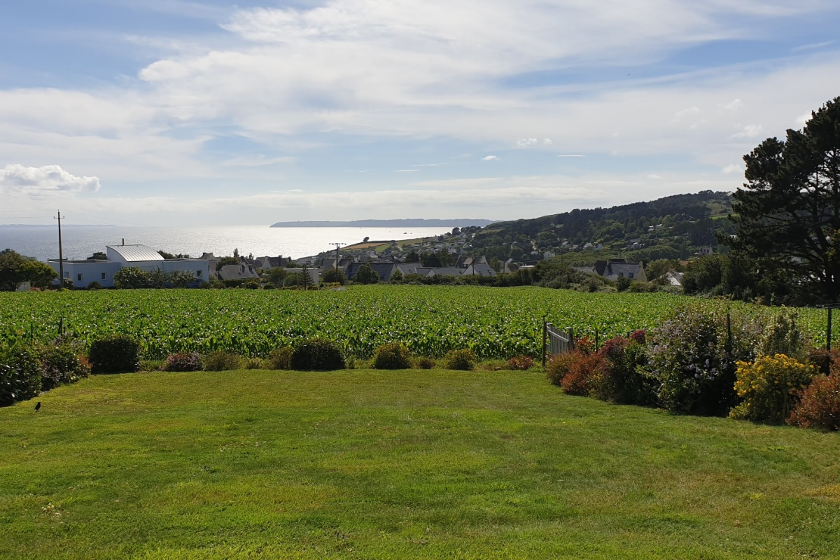 vue sur le cap de la chèvre et la baie de Douarnenez - Location de vacances - Telgruc-sur-Mer