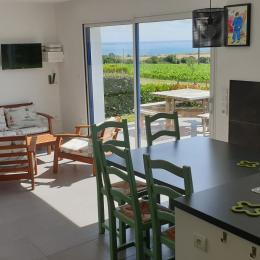 Le coin repas - Location de vacances - Telgruc-sur-Mer