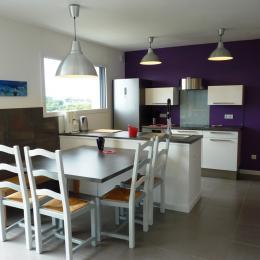 La cuisine équipée - Location de vacances - Telgruc-sur-Mer