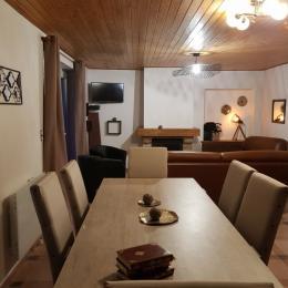 repas+salon - Location de vacances - Pont-Croix