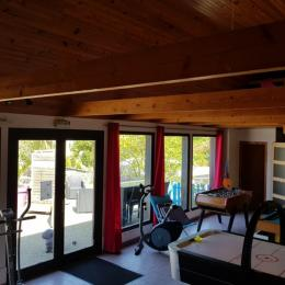 salle jeux-sport - Location de vacances - Pont-Croix
