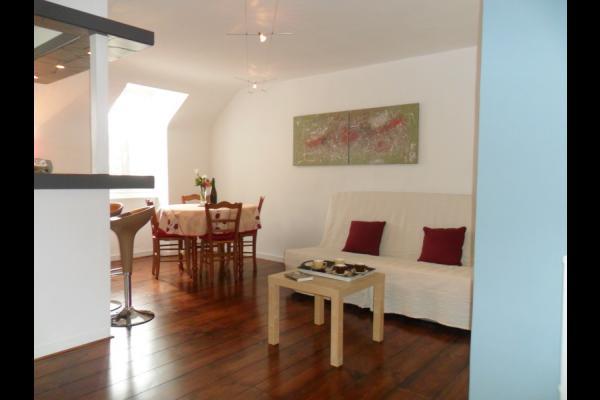 Salon - salle à manger - Location de vacances - Douarnenez