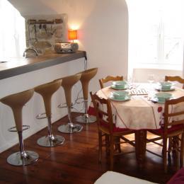 Le bar et le coin salle à manger - Location de vacances - Douarnenez