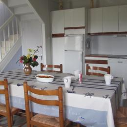 chambre N°1 , lit en 140. literie d'excellent qualité  - Location de vacances - Saint-Pabu