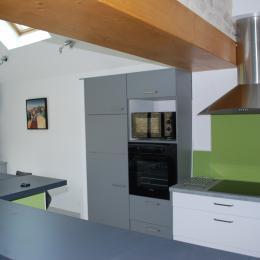 La cuisine - Location de vacances - Landunvez