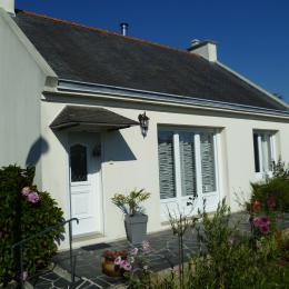terrasse plein sud avec main courante, 2 marches - Location de vacances - Bénodet