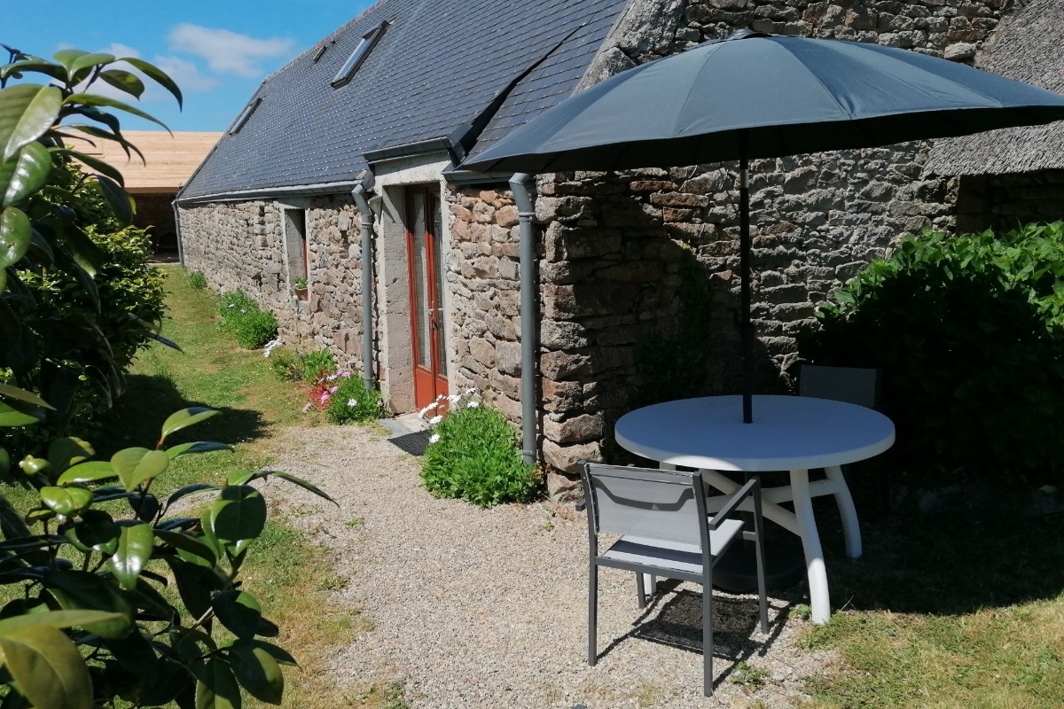 Cuisine séjour - Location de vacances - Mahalon