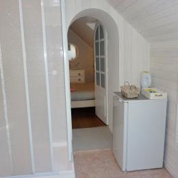 salle d'eau chambre marine - Chambre d'hôtes - Audierne