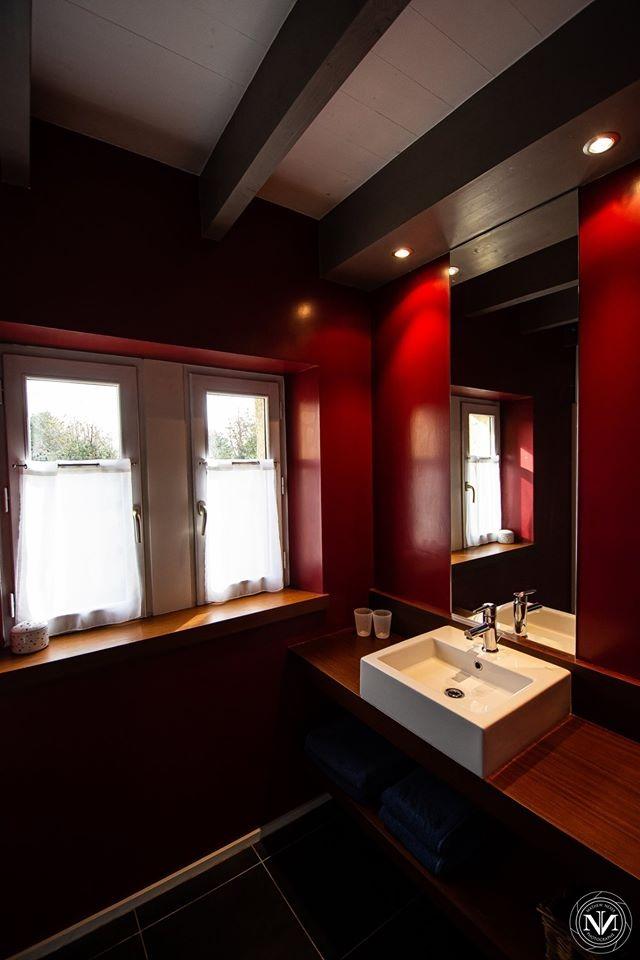 Salle de bain - Chambre d'hôtes - Arzano