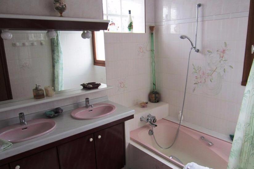 salle de bain privative - Chambre d'hôtes - Clohars-Fouesnant