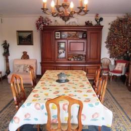 salle du petit déjeuner - Chambre d'hôtes - Clohars-Fouesnant
