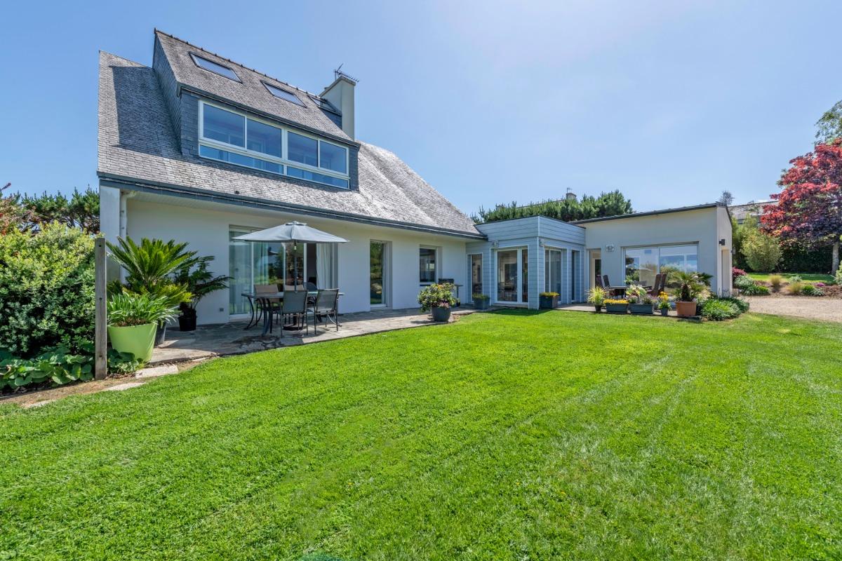 Grande Salle à manger/Salon face à la Mer et au Jardin - Location de vacances - Carantec