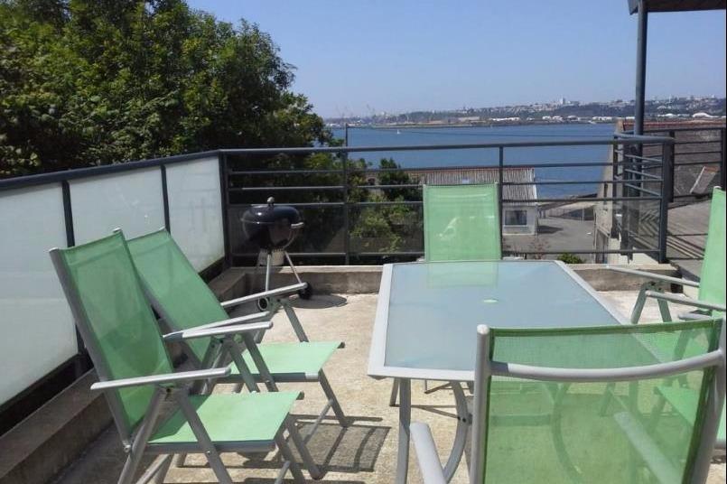 balcon avec vue sur mer - Location de vacances - Plougastel-Daoulas