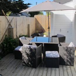 Terrasse - Location de vacances - Cléder