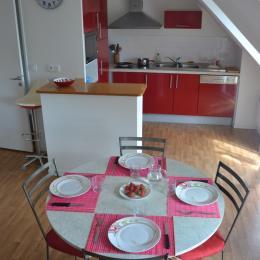 coin cuisine - Location de vacances - Clohars-Carnoët