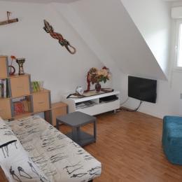 Espace détente salon TV WIFI - Location de vacances - Clohars-Carnoët