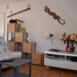 Le canapé lit - Location de vacances - Clohars-Carnoët