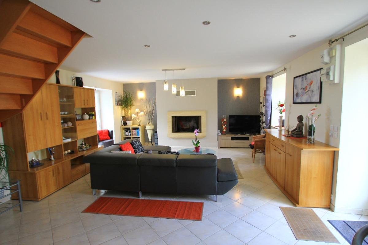 pièce de vie de 55 m² - Location de vacances - Scrignac