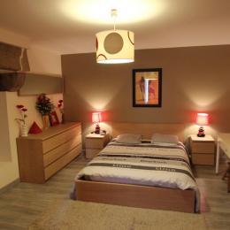 chambre1 ( lit 140 ) au 1er étage - Location de vacances - Scrignac