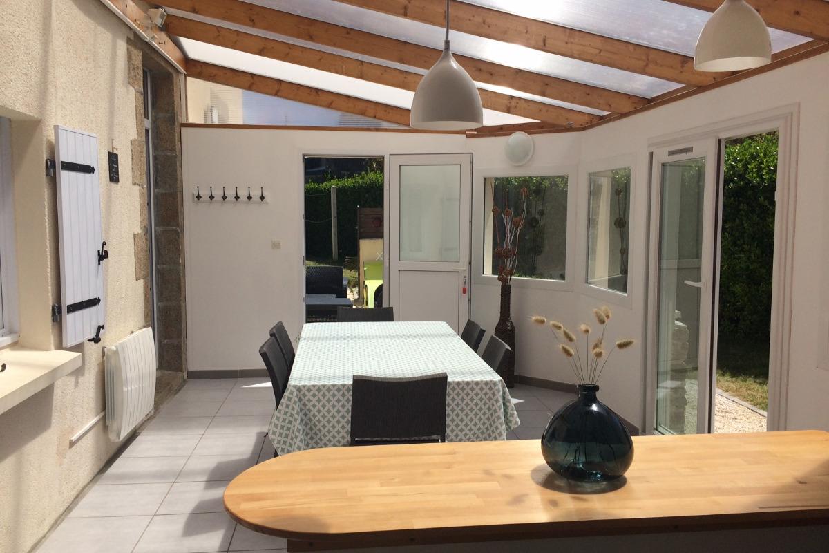 véranda salle à manger - Location de vacances - Plouguerneau