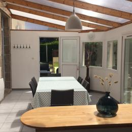 Véranda + cuisine toute équipée - Location de vacances - Plouguerneau