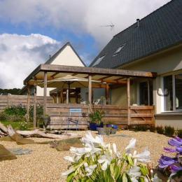 Maison Coquillage avec vue sur le bras de mer et la campagne - Location de vacances - Locquirec