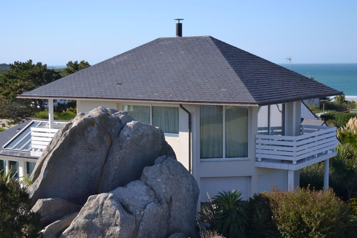 Villa de standing avec piscine int rieure chauff e 30 - Villa bretagne piscine interieure ...