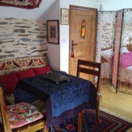 Salon chambre - Location de vacances - Gouézec
