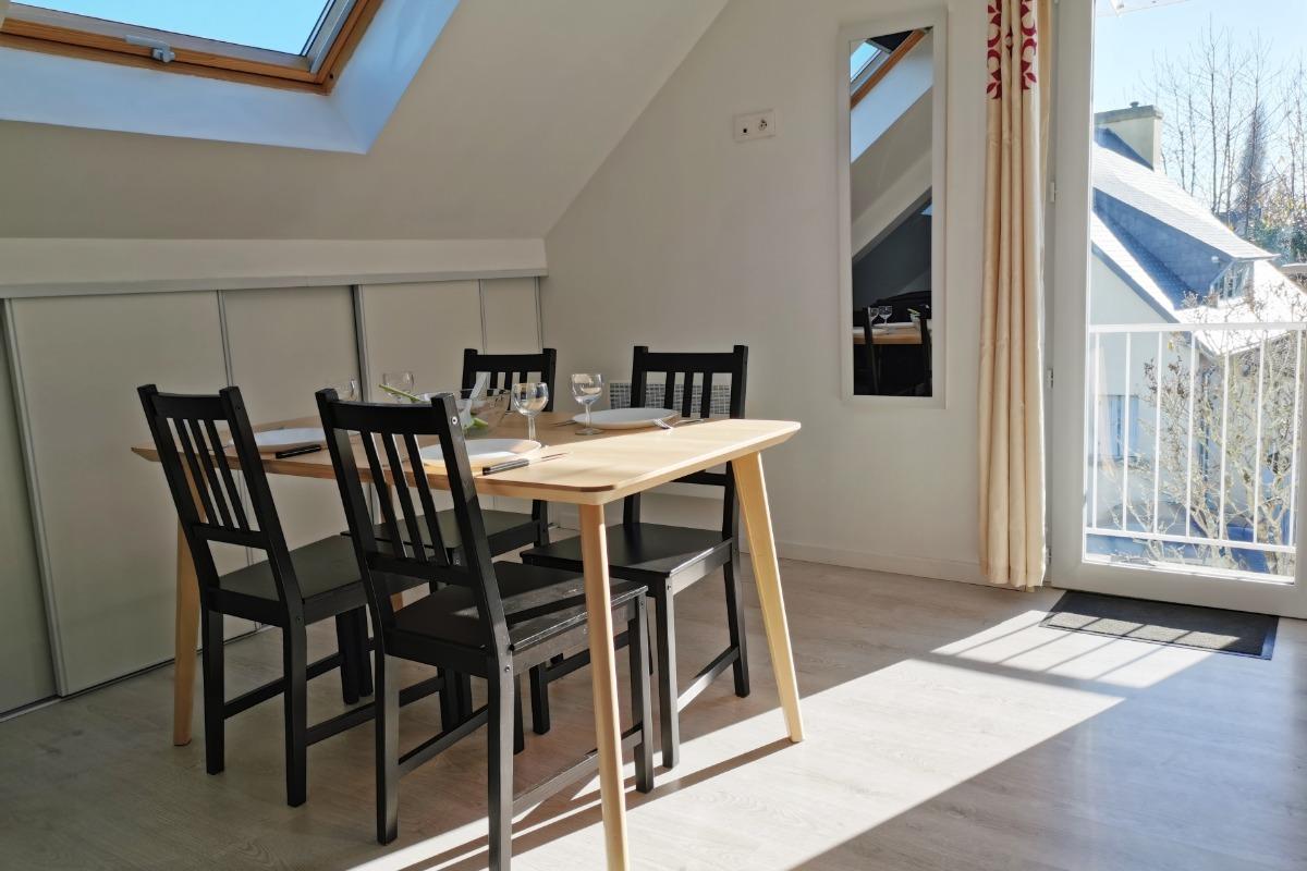Appartement Fouesnant séjour, salon - Location de vacances - Fouesnant