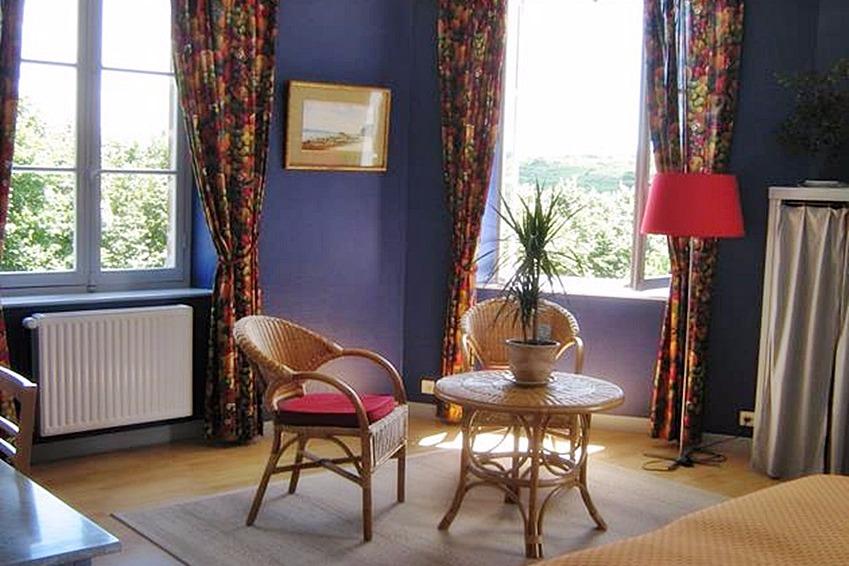 chambre Grand-Yankee 2 personnes au Manoir de Suguensou sur les bords du Goyen Audierne - Chambre d'hôtes - Audierne