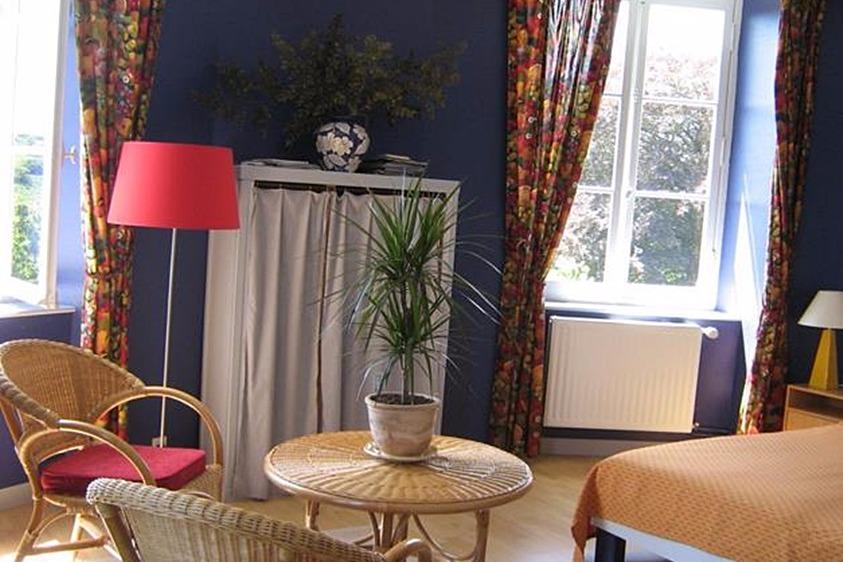 chambre Grand-Yankee au Manoir de Suguensou sur les bords du Goyen Audierne - Chambre d'hôtes - Audierne