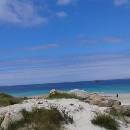 séjour spacieux, lumineux, convivial - Location de vacances - Kerlouan