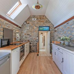salon, téléviseur - Location de vacances - Plouarzel