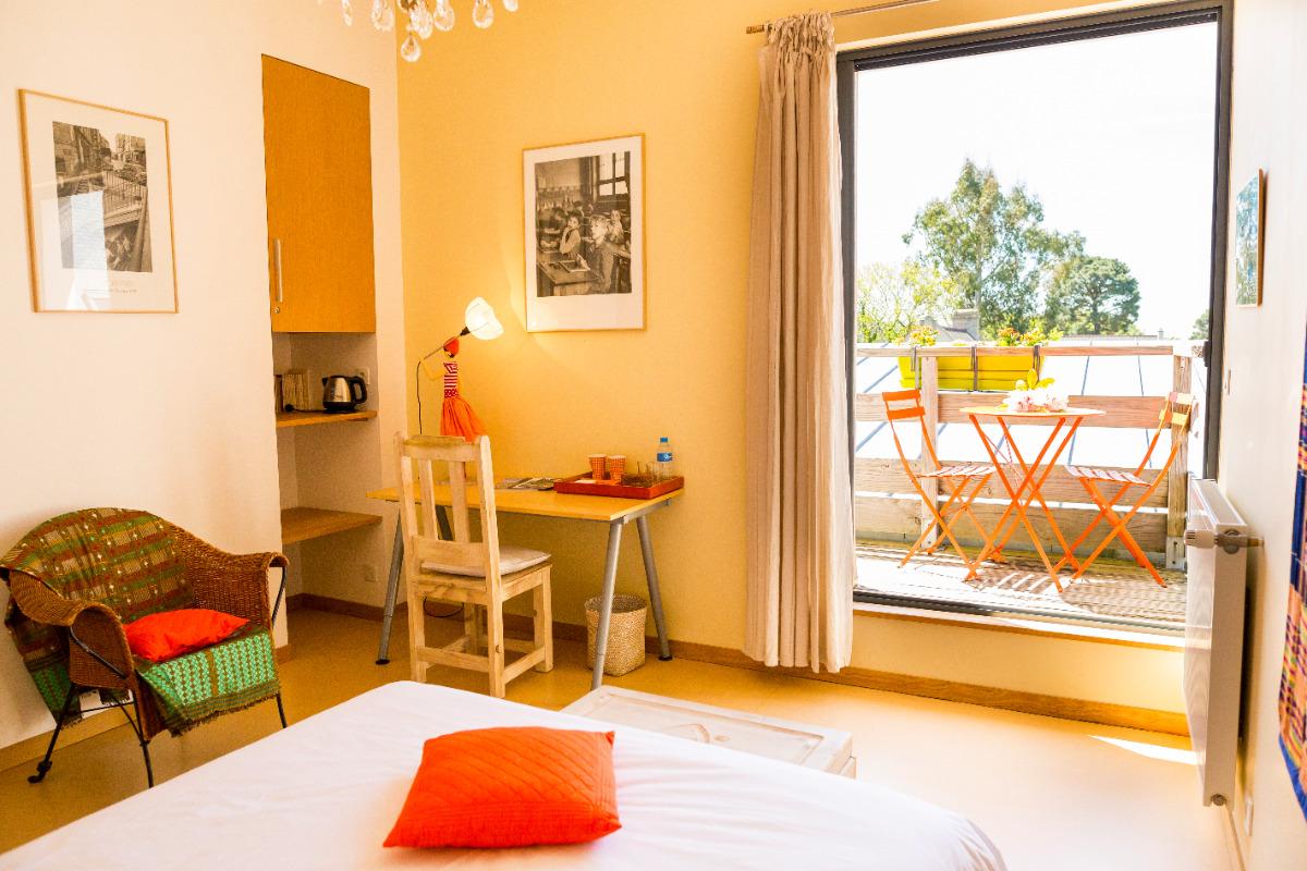 les terrasses de kerangall chambre fr ne finist re bretagne chambres d 39 h te brest. Black Bedroom Furniture Sets. Home Design Ideas