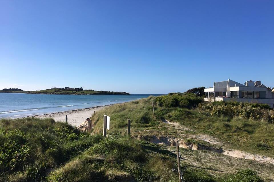 villa Grand Large avec vue sur la plage du Dossen - Location de vacances - Santec
