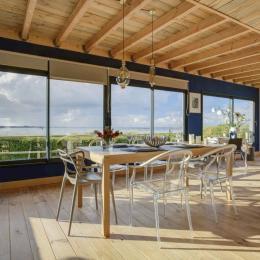 belle terrasse extérieure - Location de vacances - Santec