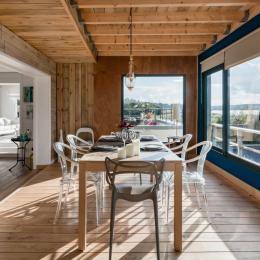 espace salon - Location de vacances - Santec