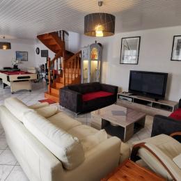 salon  - Location de vacances - Plouhinec