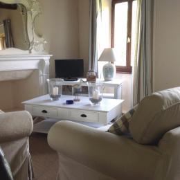 salon TV à l'étage - Location de vacances - Sizun