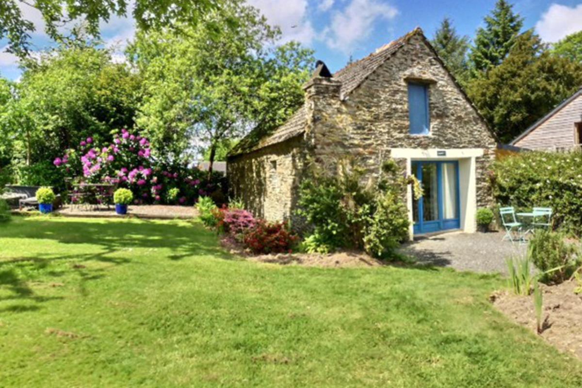 séjour salon cuisine - Location de vacances - Sizun