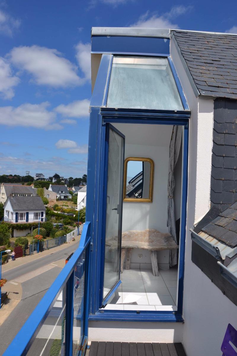 La vue du balcon - Location de vacances - Clohars-Carnoët