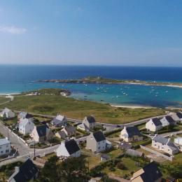 Vue aérienne - proximité mer - Location de vacances - Plouarzel