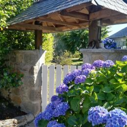 Entrée les volets blancs - Location de vacances - Quimper