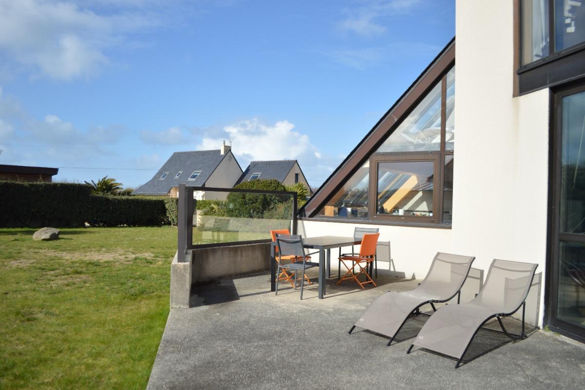 terrasse bien exposée - Location de vacances - Roscoff