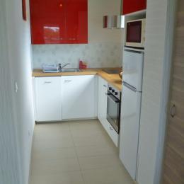 Cuisine aménagée et équipée - Location de vacances - Locmaria-Plouzané