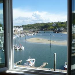 Vue sur le Port de Plaisance d'Audierne - Location de vacances - Audierne