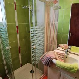 Salle d'eau avec wc - Location de vacances - Audierne