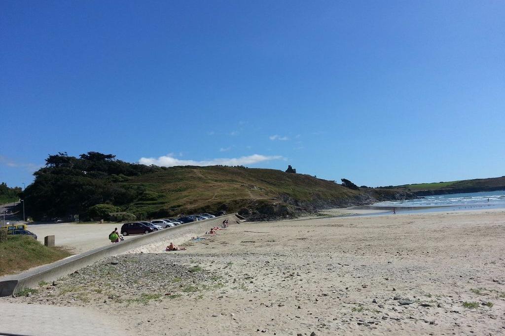 accès direct à la grande plage de Pentrez - Location de vacances - Plomodiern